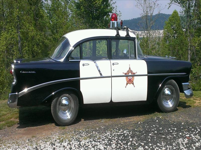 1956 Chevy Street Rod Police Cruiser